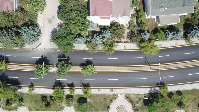 Etimesgut'ta asfalt çalışmaları