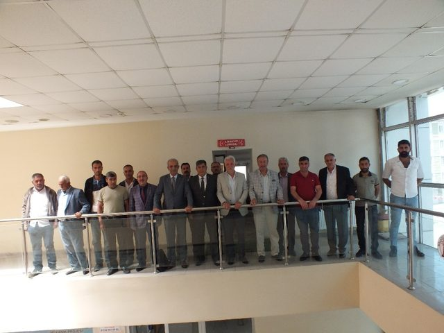 MHP İl Başkanı Demir, Başkan Tutar'ı ziyaret etti