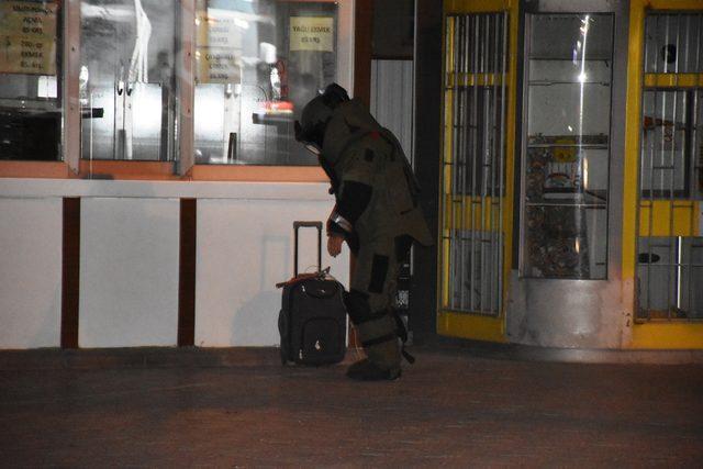 Malatya'da şüpheli valiz paniği