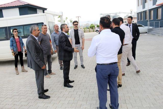 Başkan Say'dan OSB'ye ziyaret