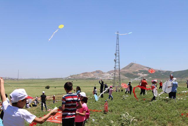 Bitlis'te uçurtma şenliği