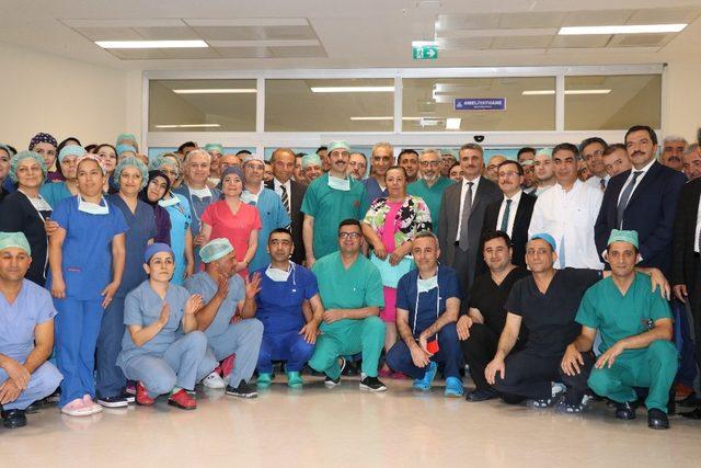 Aynı anda 5 hastaya nakil operasyonu başarıyla tamamlandı