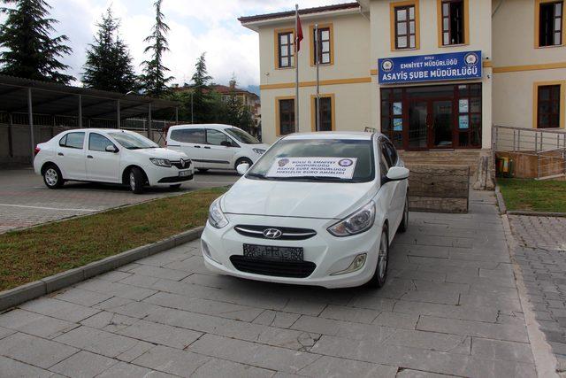 İstanbul'da çalınan otomobil, 2 yıl sonra Bolu'da bulundu