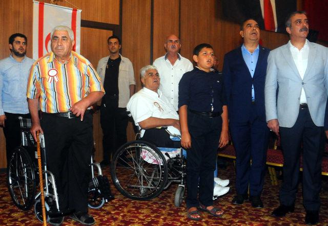 383 Kıbrıs gazisine madalya ve beraatları verildi