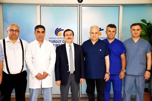 Prof. Dr. Yılmaz: Ameliyattan çıktıktan sonra gözlerim doldu