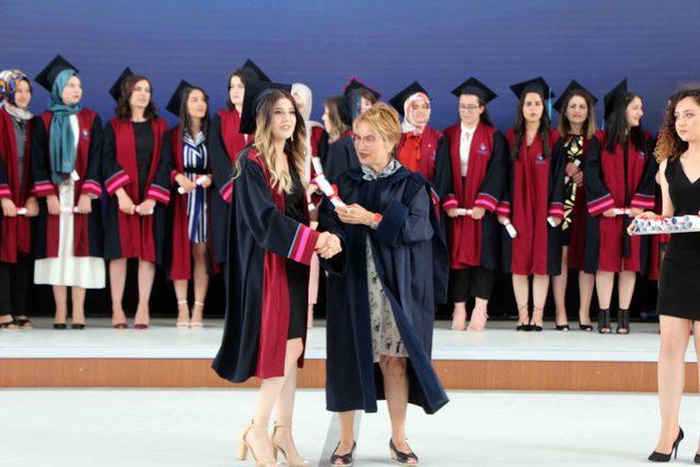 Hasan Kalyoncu Üniversitesi'nde mezuniyet coşkusu
