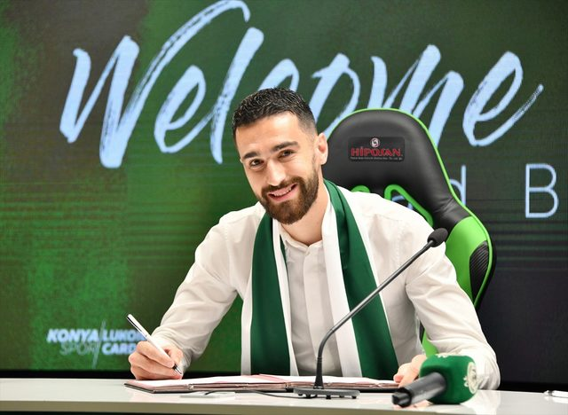 Riad Bajic Konyaspor'da<br />
