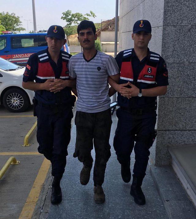 Besi çiftliğinde arkadaşını bıçaklayan kişi yakalandı