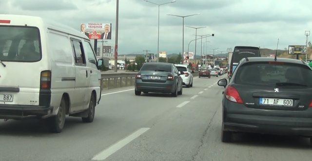 YKS'de trafik yoğunluğu oluştu