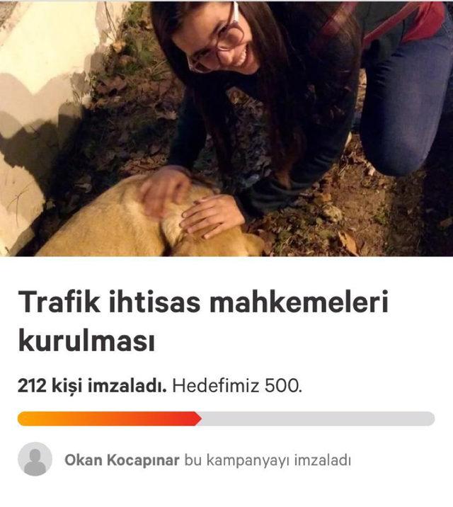 Kazada ölen üniversiteli Aslıhan için imza kampanyası