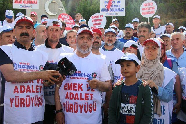 """Hak-İş Genel Başkanı Arslan: """"CHP'li ve HDP'li belediyelerde yaklaşık 14 bin kişi istifa ettirildi"""""""
