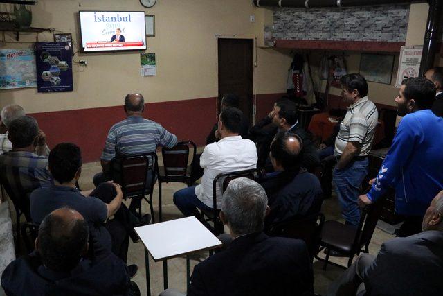 İstanbul adayları Zonguldak'ta ilgiyle izlendi