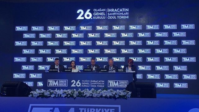 TİM Olağan Genel Kurulu'ndan ihracatçıya müjde çıktı