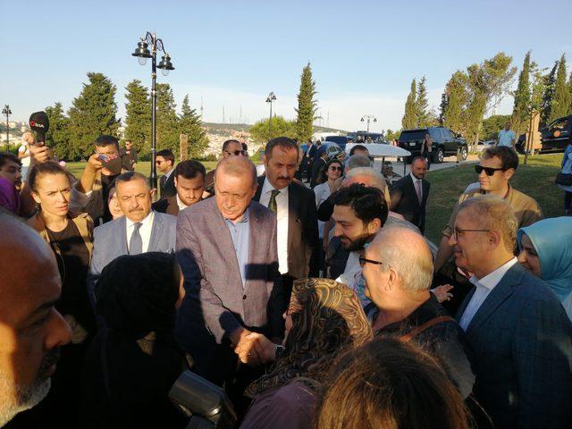 Erdoğan: Mursi kardeşimize, şehidimize Allah'tan rahmet diliyorum