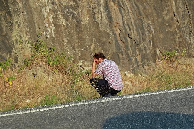 Ailesini indirdi, otomobilini baraj gölüne sürdü (2)