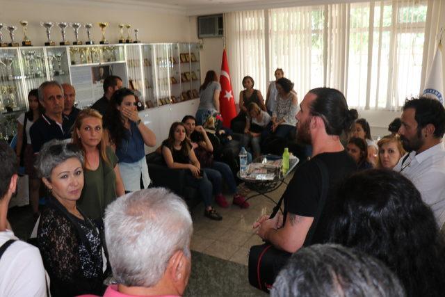 Edirne'de özel okula haciz geldi