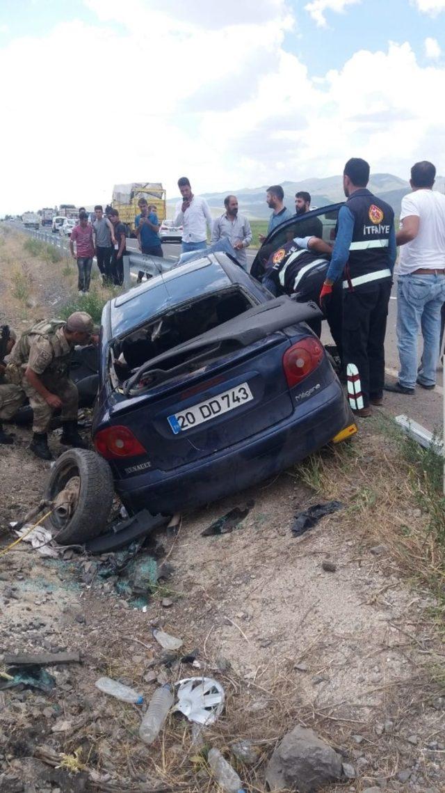 Tutak'ta trafik kazası: 1 ölü 2 yaralı