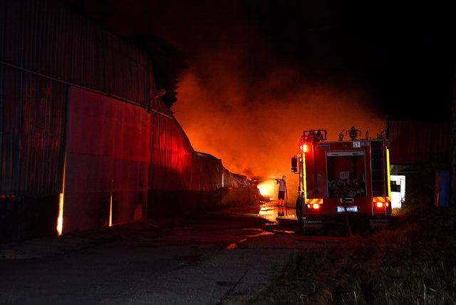 Tarsus'taki fabrika yangını, kundaklama çıktı