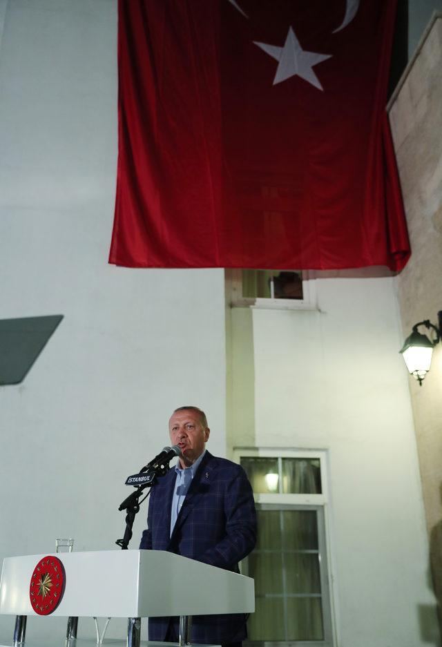 Erdoğan Trabzonlularla buluşmasında konuştu (1)