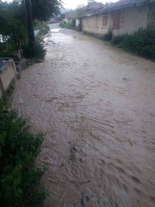 Sel, Aslanapa köylerinde zarara yol açtı