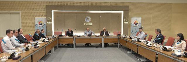 TOBB'da 'AB Coğrafi İşaret' toplantısı yapıldı