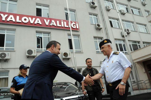 Jandarma Genel Komutanı'ndan Yalova'da denetim