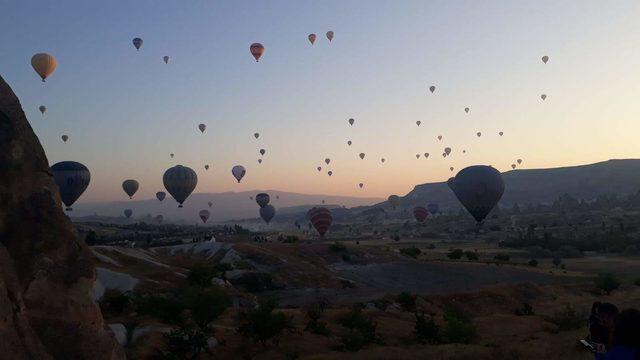Uzakdoğu ülkelerinden gelişlerdeki artış Kapadokya'yı uçurdu