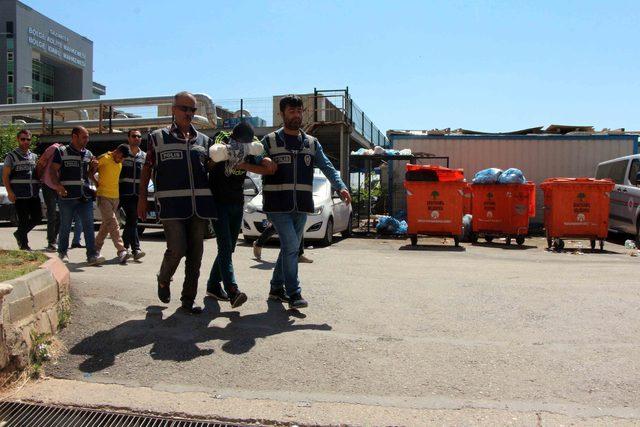 Gaziantep'te kasa hırsızları yakalandı
