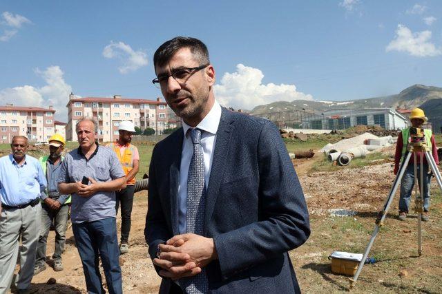 Başkan Tanglay, belediyenin çalışmalarını anlattı