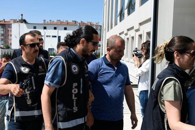 Ekspertiz operasyonunda gözaltına alınan 9 kişi adliyeye sevk edildi