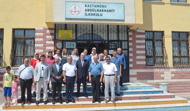 Abdülhak Hamit İlkokulu Çok Amaçlı Salonu açıldı