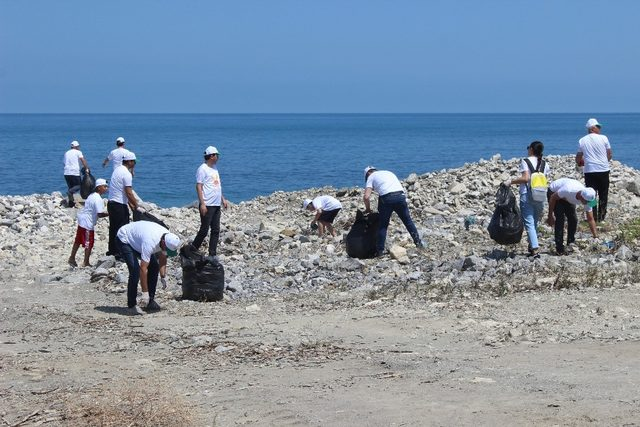 Türkeli'de çevre temizliği etkinliği