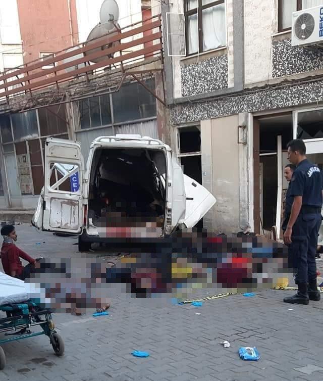 Edirne'de katliam gibi kaza: 10 ölü, 30 yaralı