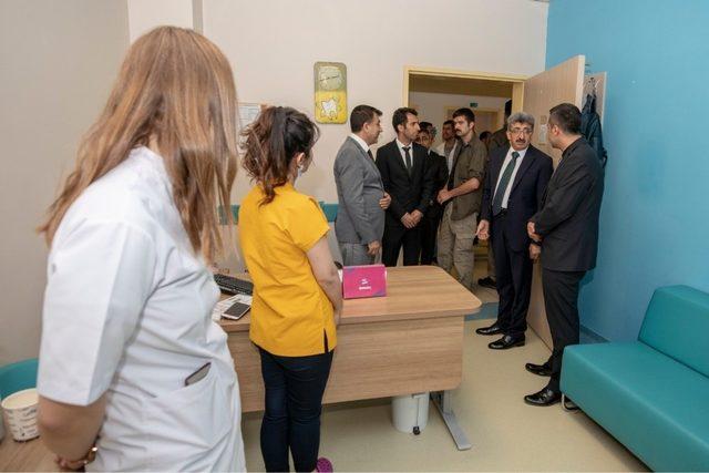 Vali Bilmez'den Ağız ve Diş Sağlığı Merkezine ziyaret