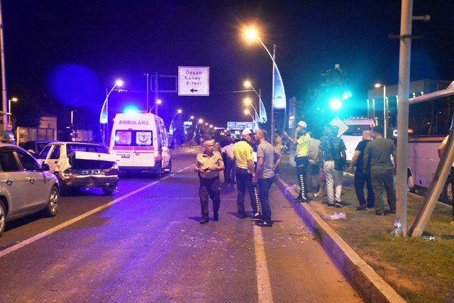Malatya'da zincirleme kaza: 6 yaralı