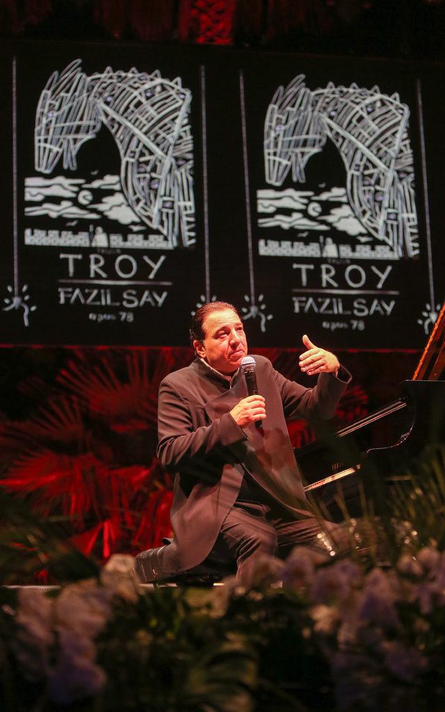 Fasıl Say, Antalya'da konser verdi