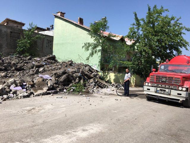 Muş'ta bir yılda 61 metruk bina yıktırıldı