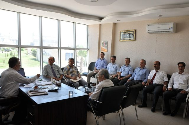Tarım ve Orman Bakanlığı Doğal Afetler Daire Başkanı Engürülü'den Hububat Merkezi'ne ziyaret