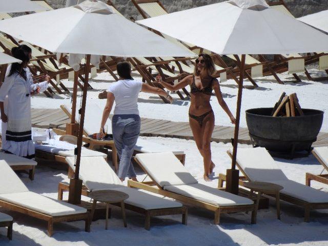 Hollywood yıldızı Nathalie Kelley Türkiye'ye aşık oldu