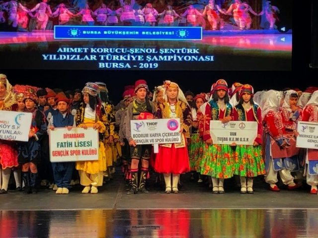 Tuşba ekibi Türkiye üçüncüsü oldu
