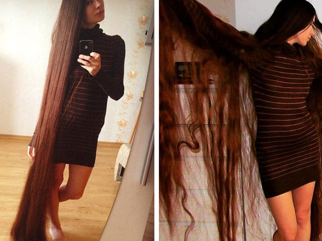 Bugünlerin Rapunzel'iyle Tanışın: 2 Buçuk Metrelik Saçlarıyla Alia Nasroya!