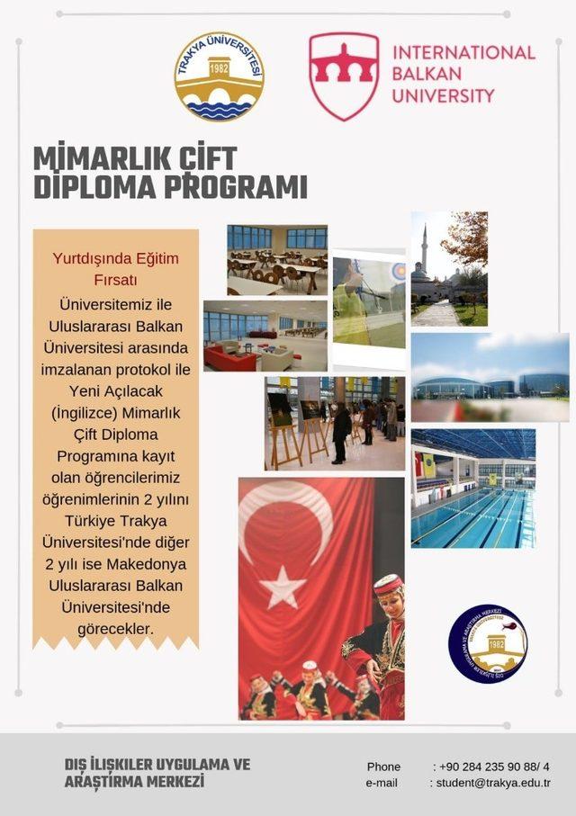Trakya Üniversitesinden eğitimde devrim