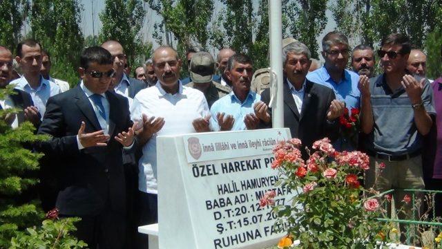15 Temmuz Şehidi Hamuryen, mezarı başında anıldı