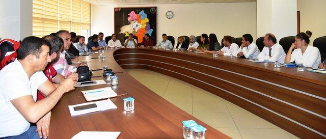 Van'da 'Kamu Hastaneleri Aylık Değerlendirme Toplantısı' yapıldı