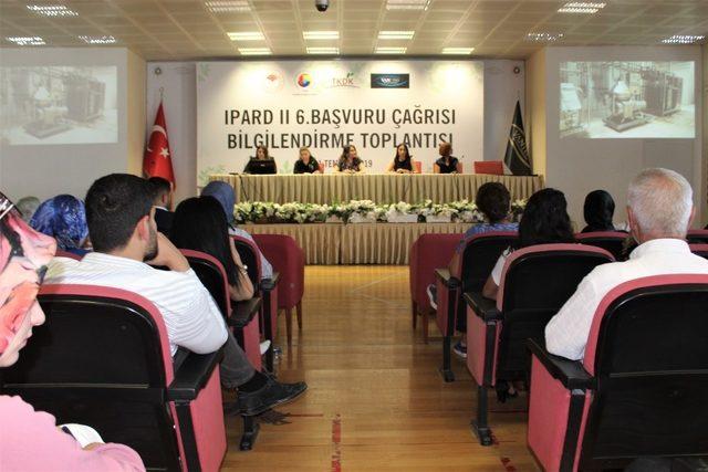 """Van'da """"IPARD II. Başvuru Çağrı İlanı"""" bilgilendirme toplantısı"""