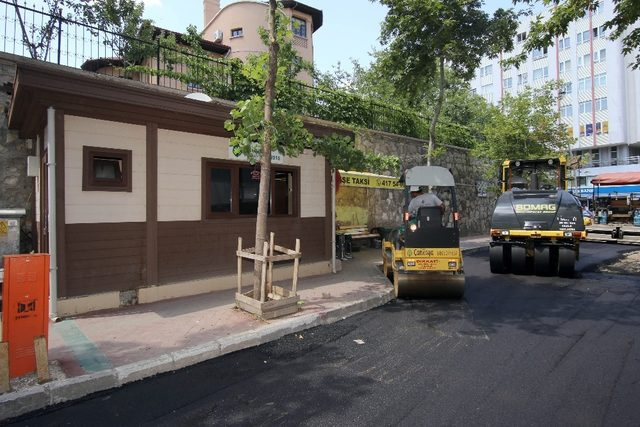 Çankaya'dan Kızılay'da asfalt çalışması