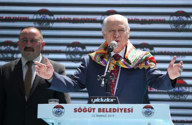 MHP Genel Başkanı Devlet Bahçeli, Bilecik'te