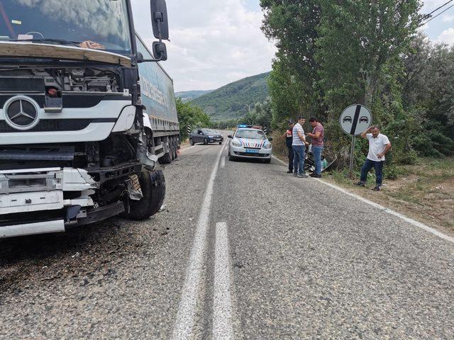 Kazada ağır yaralanan Akif kurtarılamadı