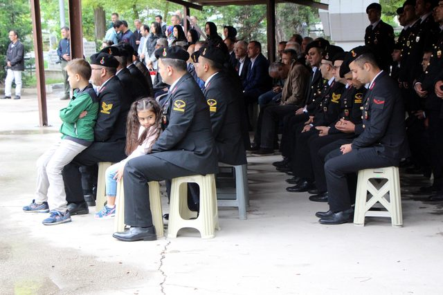 Bolu'da 15 Temmuz şehidi polis memuru anıldı
