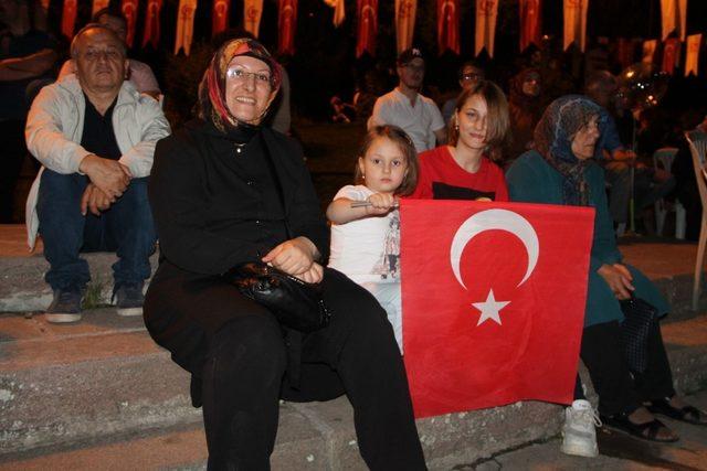 00.13'te Amasya'dan salalar yükseldi